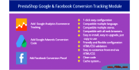 Google prestashop tracking conversion facebook