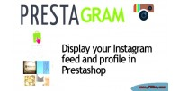Gram presta prestashop in instagram