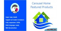 Home carousel featured products
