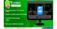 Icontact prestashop subscription