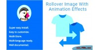 Image rollover effects animation with