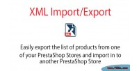 Import xml module prestashop export