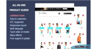 In one product slider module prestashop responsive in