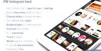 Instagram responsive feed carousel
