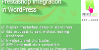 Integration prestashop in wordpress