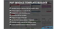 Invoice pdf template builder invoice edit delivery module prestashop template