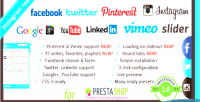 Likebox facebook prestashop for slider