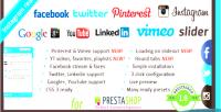 Likebox facebook prestashop for slider