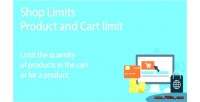 Limits shop product limit cart and