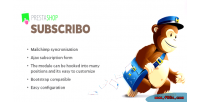 Mailchimp subscribo sync form subscribe and