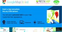 Map google styled