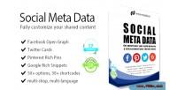 Meta social prestashop for data