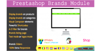 Module brands for composer visual prestashop