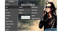 Module prestashop menu flyout vertical