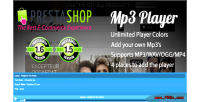 Mp3 prestashop player