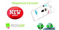 New responsive product carousel