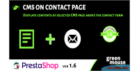 On cms contact page