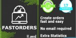 Orders create fast email out with