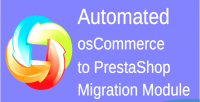 Oscommerc automated to module migration prestashop