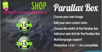 Parallax prestashop box
