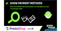 Payment show methods