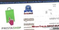 Payment swissmicsi prestashop for module