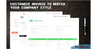 Pdf prestashop invoice module builder template
