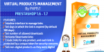 Phpist prestashop virtual module management products