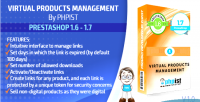 Phpist prestashop virtual module management products