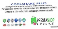 Plus coolshare prestashop module networks social