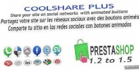 Plus coolshare prestashop module networks social