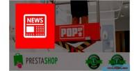 Popup news