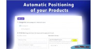 Positioning automatic products your of