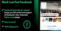 Post block last facebook