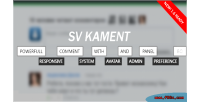 Powerful svkament commenting system