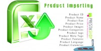 Prestashop import product with module excel csv