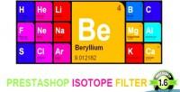 Prestashop isotope filter