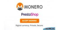 Prestashop monero payment gateway