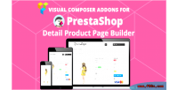 Prestashop product page builder addons composer visual