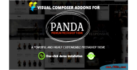 Prestashop visual composer addons theme panda for