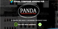 Prestashop visual composer addons theme panda for