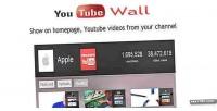 Prestashop youtubewall module
