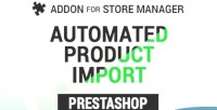 Product automated prestashop for import