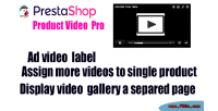 Product prestashop video pro