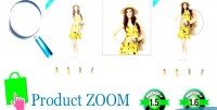 Product prestashop zoom