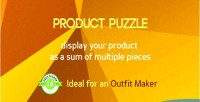 Product puzzle display pack one as items
