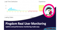 Real pingdom user monitoring