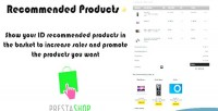 Recommended prestashop products