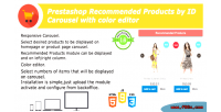 Recommended prestashop products module id by