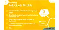 Request prestashop module quote a